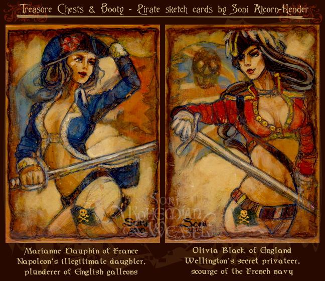 Marianne Dauphin & Olivia Black by Soni Alcorn-Hender