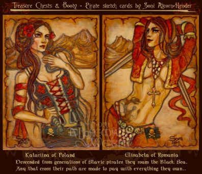 Katariina of Poland & Elisabeta of Romania by Soni Alcorn-Hender