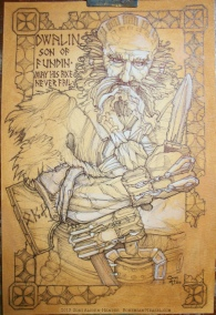 A fully-fleshed out Dwalin awaiting colours :D