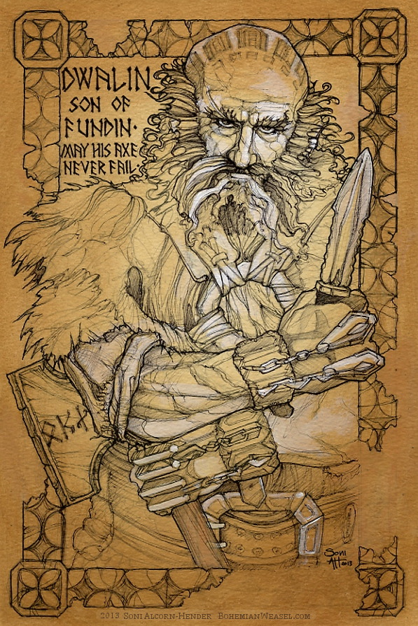 Dwalin work in progress, by Soni Alcorn-Hender