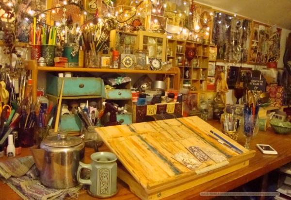 Bohemian Weasel artist studio