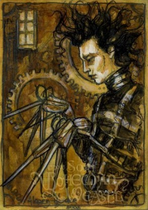 Edward Scissorhands, by Soni Alcorn-Hender