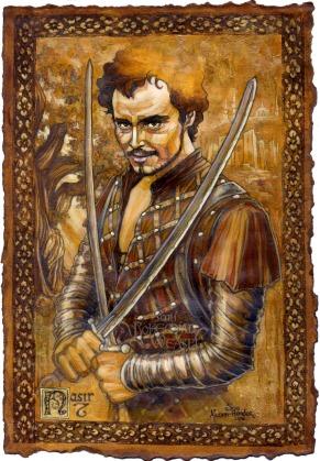 Nasir, Robin of Sherwood, by Soni Alcorn-Hender