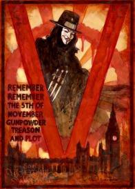 V for Vendetta by Soni Alcorn-Hender