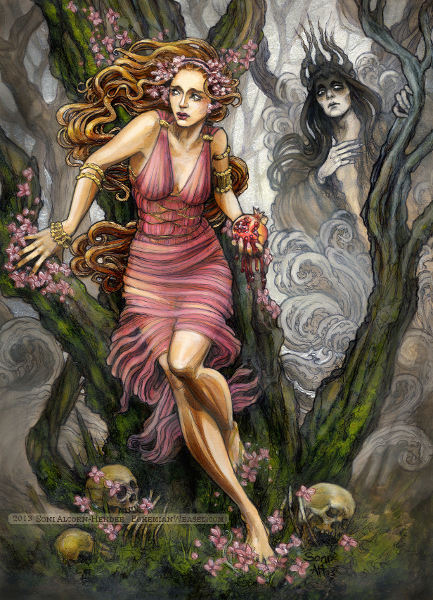 the myth of demeter and persephone Dear olivia, i found it interesting that you focused on the theme of maturation in women the examples that you used from the story of demeter and persephone, are clear examples of maturation and serves as a vastly different interpretation that i used in my post.