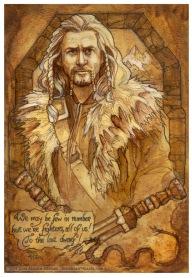 Fili, The Hobbit, by Soni Alcorn-Hender