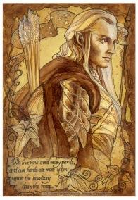 Haldir, Lord of the Rings, by Soni Alcorn-Hender