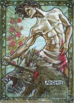 Adonis, by Soni Alcorn-Hender