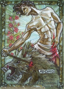 Adonis, by Soni Alcorn-Hender