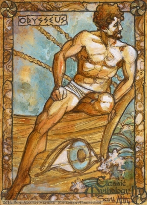 Odysseus, by Soni Alcorn-Hender