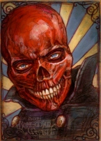 Red Skull by Soni Alcorn-Hender