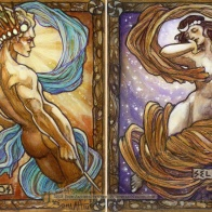 Helios and Selene, by Soni Alcorn-Hender