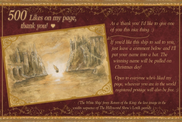 Prize draw art contest for the White Ship