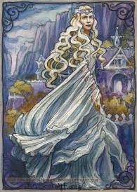 Galadriel in Rivendell, The Hobbit. Soni Alcorn-Hender