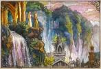 Galadriel and Gandalf in Rivendell, The Hobbit. Soni Alcorn-Hender