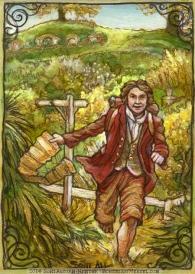 Bilbo Baggins, by Soni Alcorn-Hender