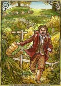 Bilbo Baggins, by Soni Alcorn-Hender