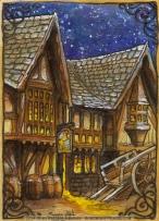 Bree, The Prancing Pony Inn by Soni Alcorn-Hender
