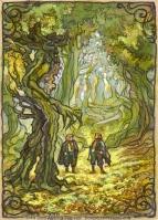 Hobbits in Fangorn, Soni Alcorn-Hender