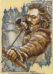 Bard the Bowman, by Soni Alcorn-Hender