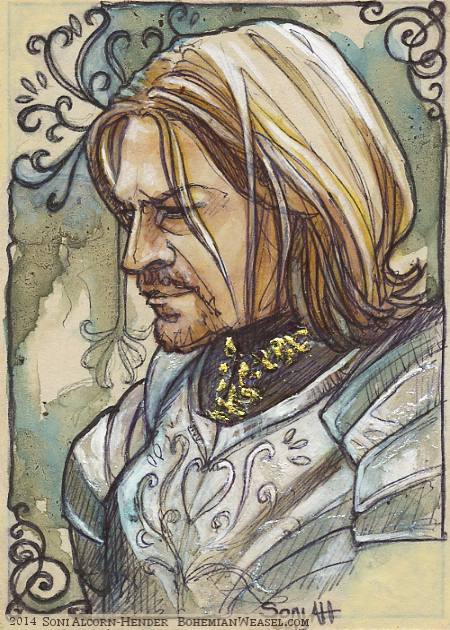 Boromir, Denethor's first-born. Soni Alcorn-Hender
