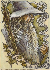 Gandalf, by Soni Alcorn-Hender