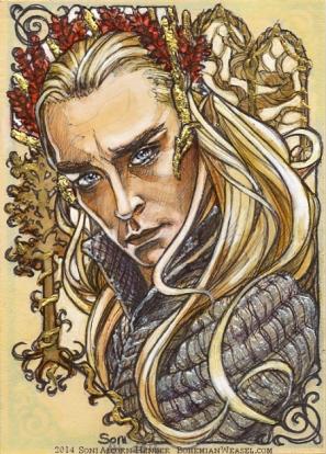 Thranduil, King. By Soni Alcorn-Hender