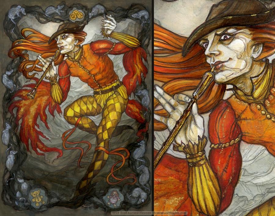 The Pied Piper, Soni Alcorn-Hender