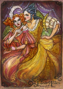 Cinderella's Ugly Sisters, by Soni Alcorn-Hender