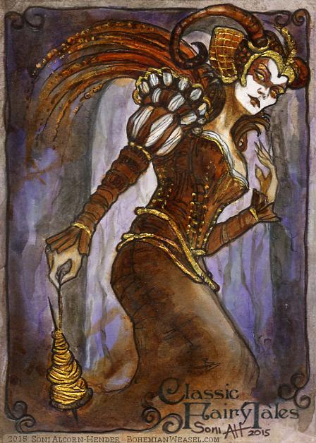The 'Wicked Fairy', Sleeping Beauty, by Soni Alcorn-Hender