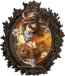 The Demon's Ball, Detail #5, by Soni Alcorn-Hender