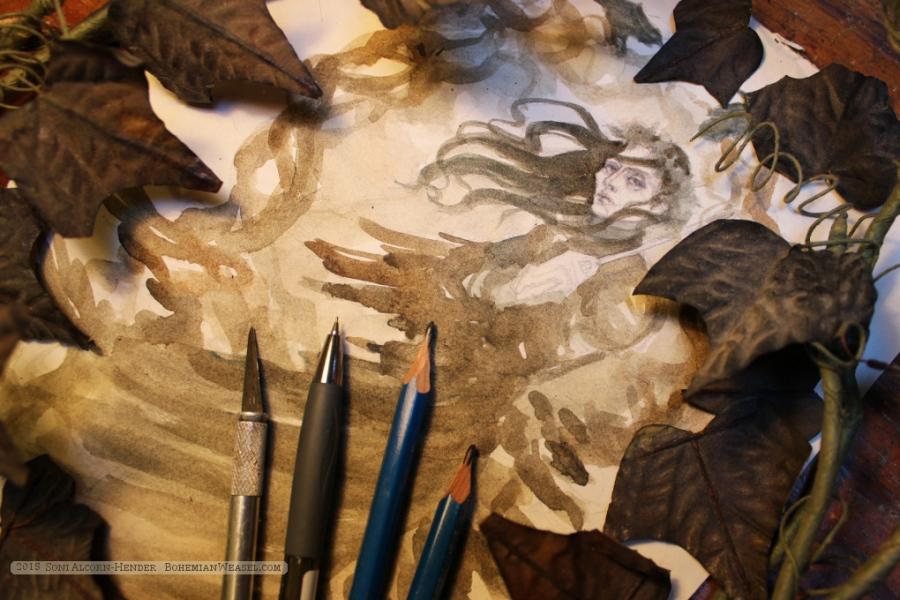Raven King (Strange & Norrell) work-in-progress 2, by Soni Alcorn-Hender