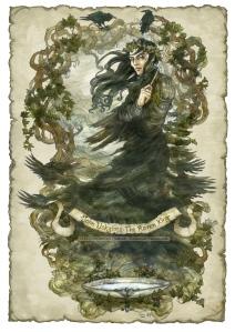 John Uskglass, the Raven King crowned in Ivy, Soni Alcorn-Hender