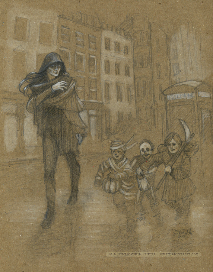 Hades at Halloween, Soni Alcorn-Hender