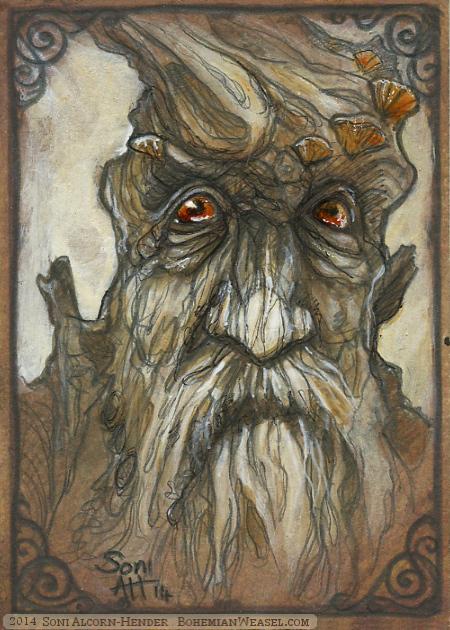Treebeard, by Soni Alcorn-Hender
