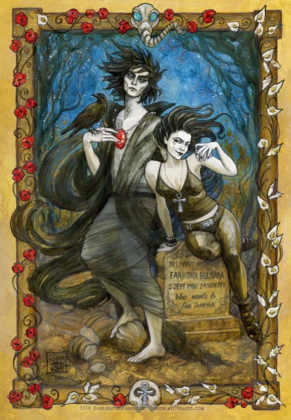 Dream and Death, The Sandman, Soni Alcorn-Hender