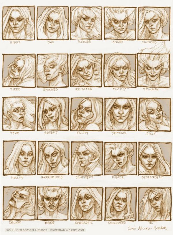 25 Essential Expressions challenge, Soni Alcorn-Hender