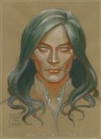 Fëanor colour study by Soni Alcorn-Hender