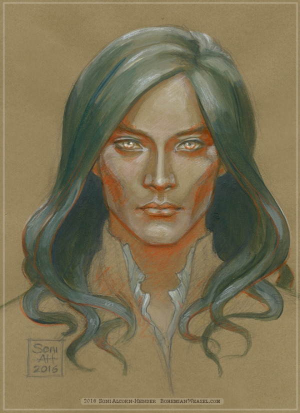 Fëanor colour study by Soni Alcorn-Hender