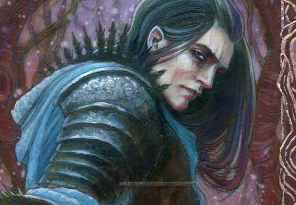 Eöl the Dark Elf (detail), by Soni Alcorn-Hender