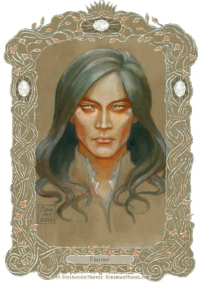 Fëanor, with border, Soni Alcorn-Hender