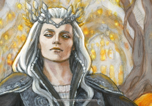 Thingol (detail) by Soni Alcorn-Hender