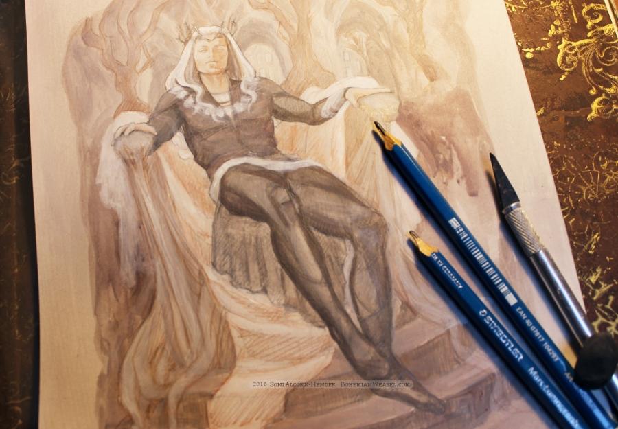 Thingol (work in progress) by Soni Alcorn-Hender