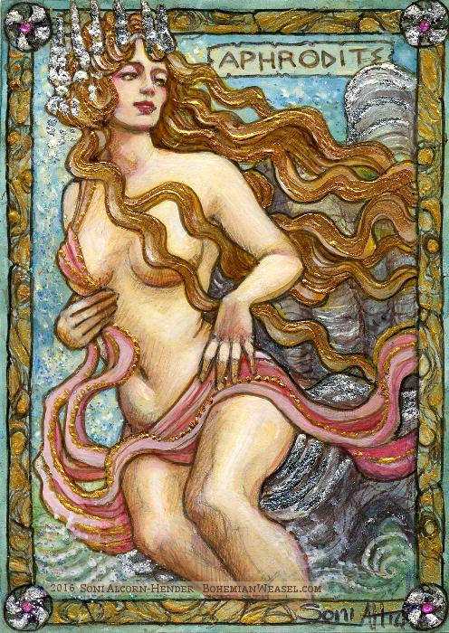 Aphrodite, by Soni Alcorn-Hender