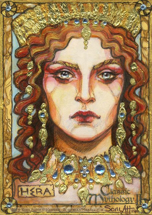 Hera, by Soni Alcorn-Hender