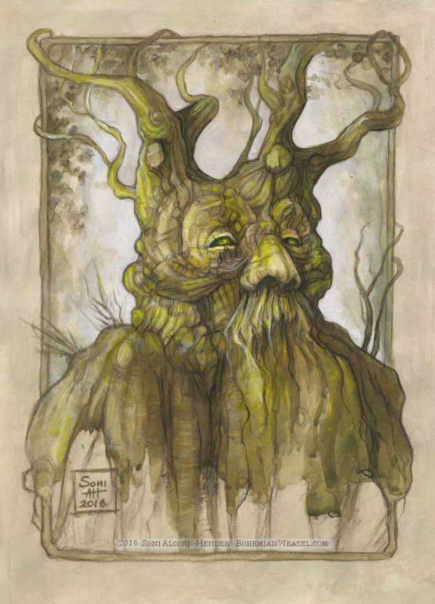 Treebeard, Soni Alcorn-Hender