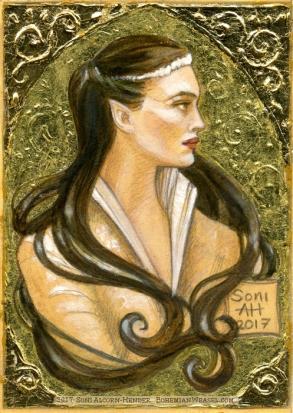 Arwen, gilded, by Soni Alcorn-Hender