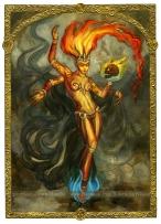 Fire Elemental by Soni Alcorn-Hender