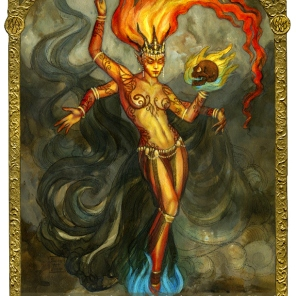 Fire Elemental by Soni Alcorn-Hender