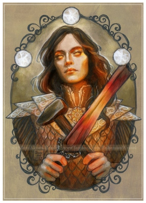 Fëanor spirit of fire, Soni Alcorn-Hender